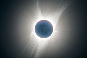 アメリカで観測された皆既日食